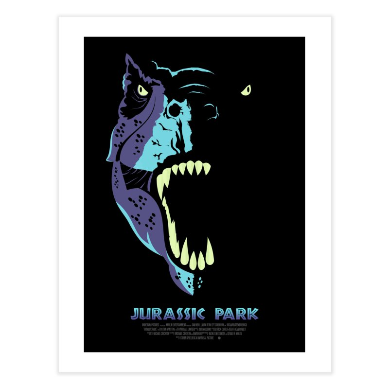 Jurassic Park (Art Print) in Fine Art Print by Muchmoji Shop