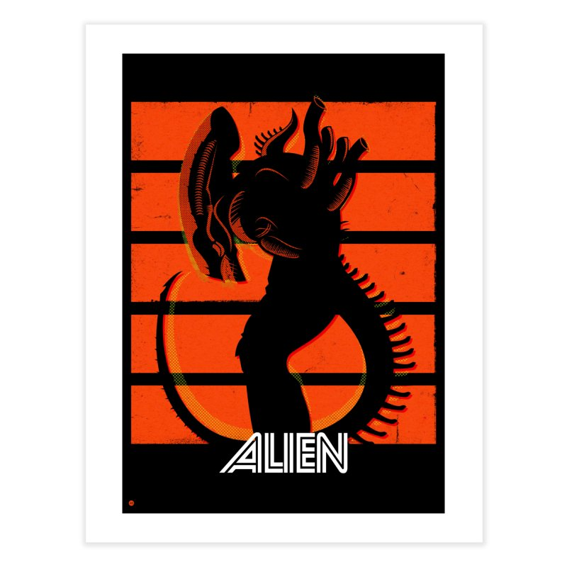 Alien (Art Print) in Fine Art Print by Muchmoji Shop
