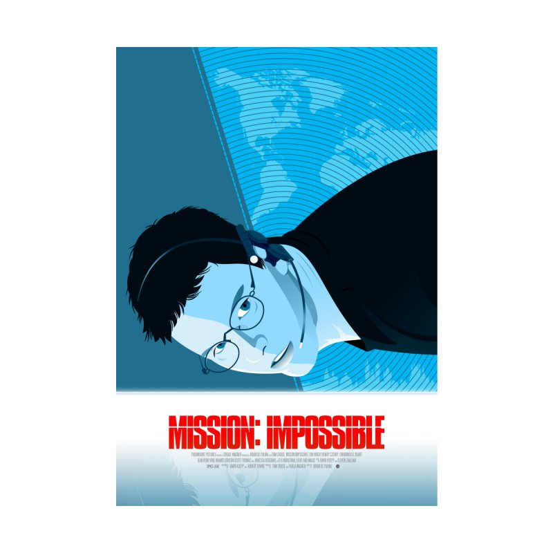 Mission Impossible (Art Print) Home Fine Art Print by Muchmoji Shop