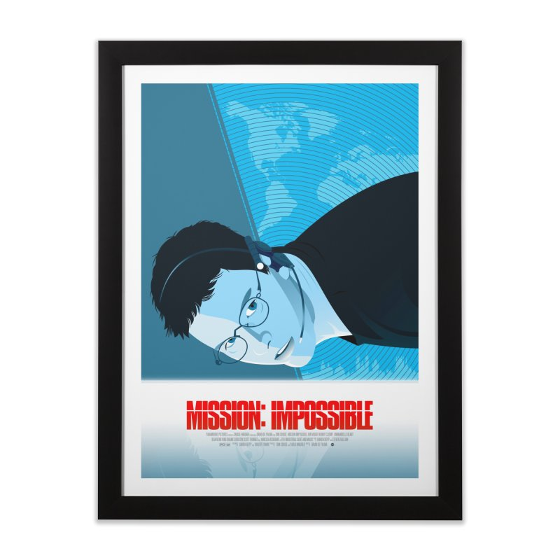 Mission Impossible (Art Print) Home Framed Fine Art Print by Muchmoji Shop