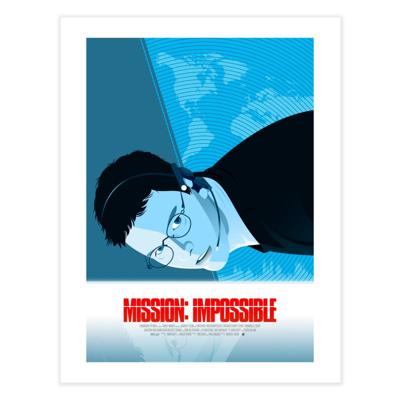 Mission Impossible (Art Print) in Fine Art Print by Muchmoji Shop