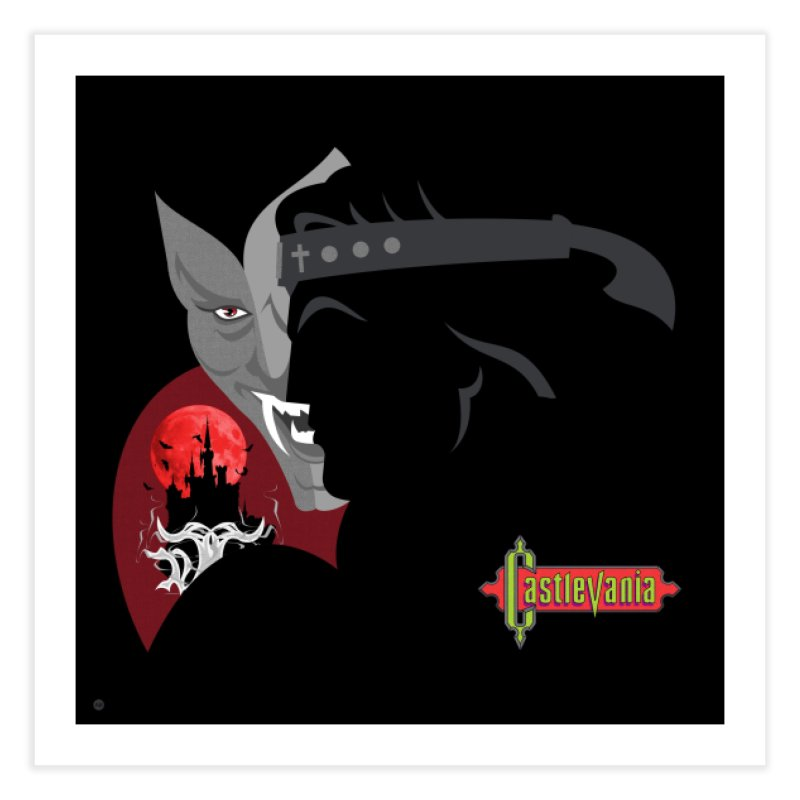 Castlevania in Fine Art Print by Muchmoji Shop