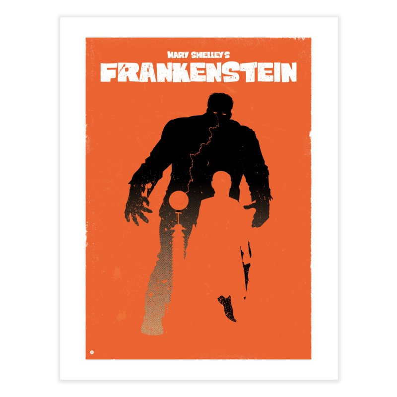 Mary Shelley's Frankenstein in Fine Art Print by Muchmoji Shop