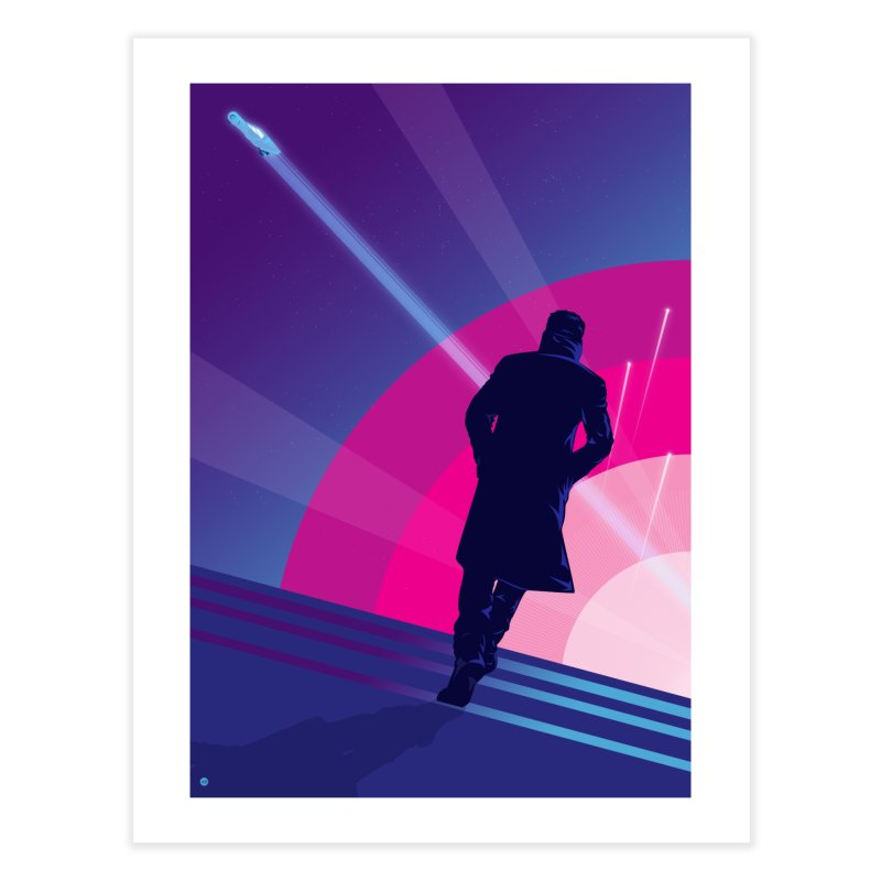 The Wanderer K (Regular version) in Fine Art Print by Muchmoji Shop