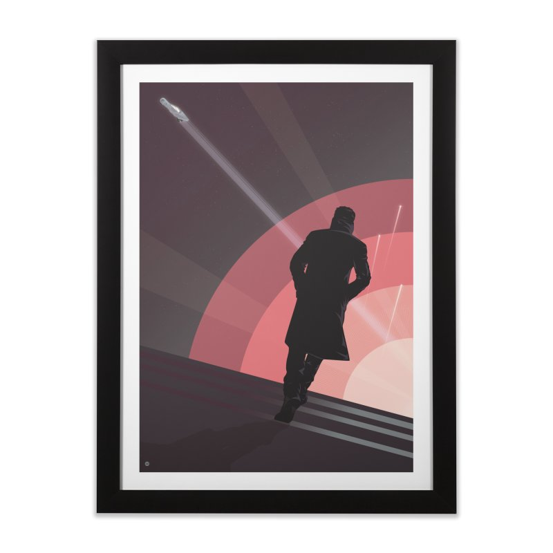 The Wanderer K (Variant edition) Home Framed Fine Art Print by Muchmoji Shop
