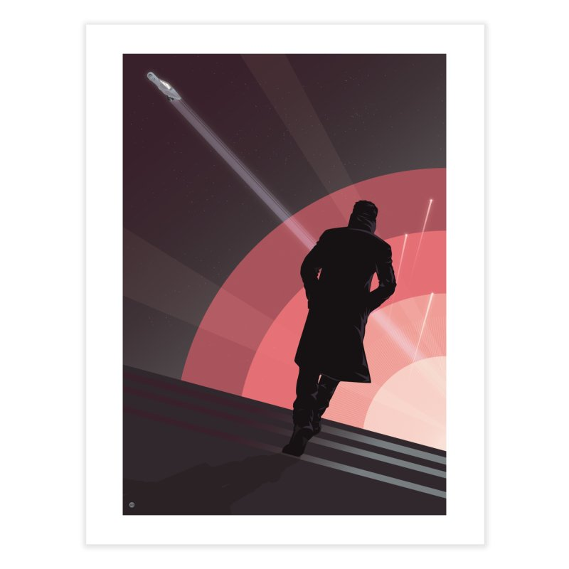 The Wanderer K (Variant edition) in Fine Art Print by Muchmoji Shop