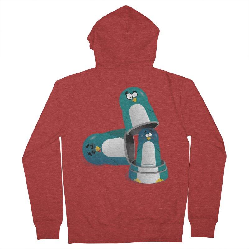 Penguin Dolls Men's Zip-Up Hoody by mud's Artist Shop