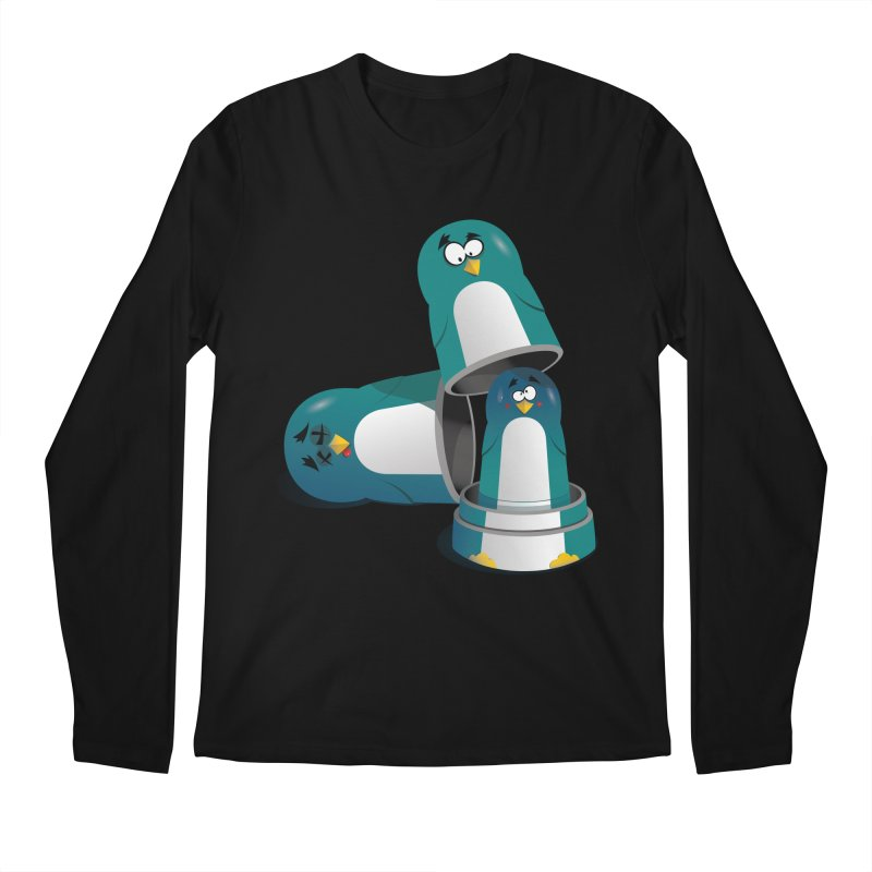 Penguin Dolls Men's Longsleeve T-Shirt by mud's Artist Shop