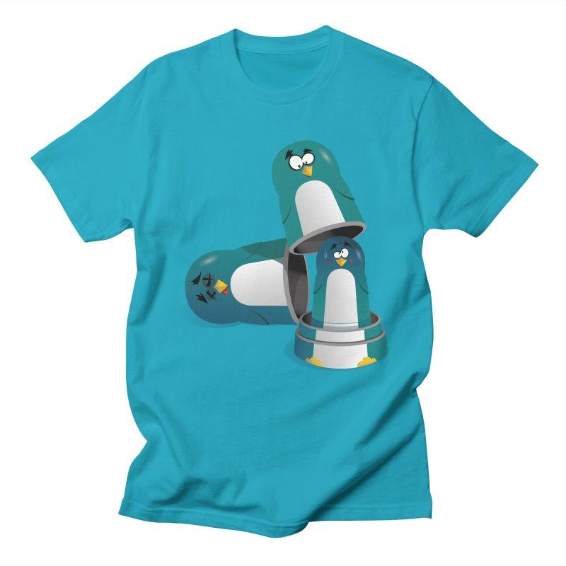 Penguin Dolls Men's T-Shirt by mud's Artist Shop