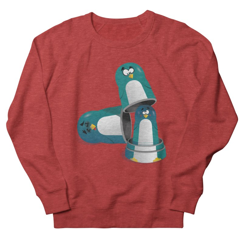 Penguin Dolls Women's Sweatshirt by mud's Artist Shop