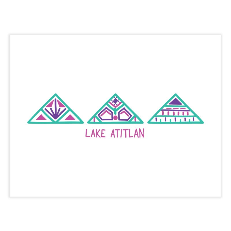 Lake Atitlan - Mint Home Fine Art Print by muddyum's artist shop