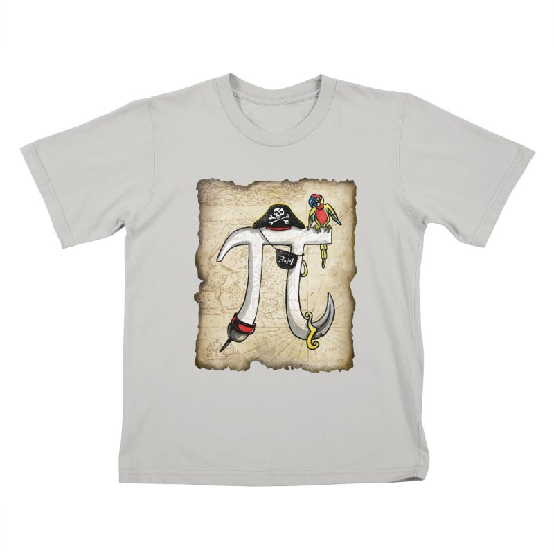 Pirate Pi Day Kids T-shirt by Mudge Studios