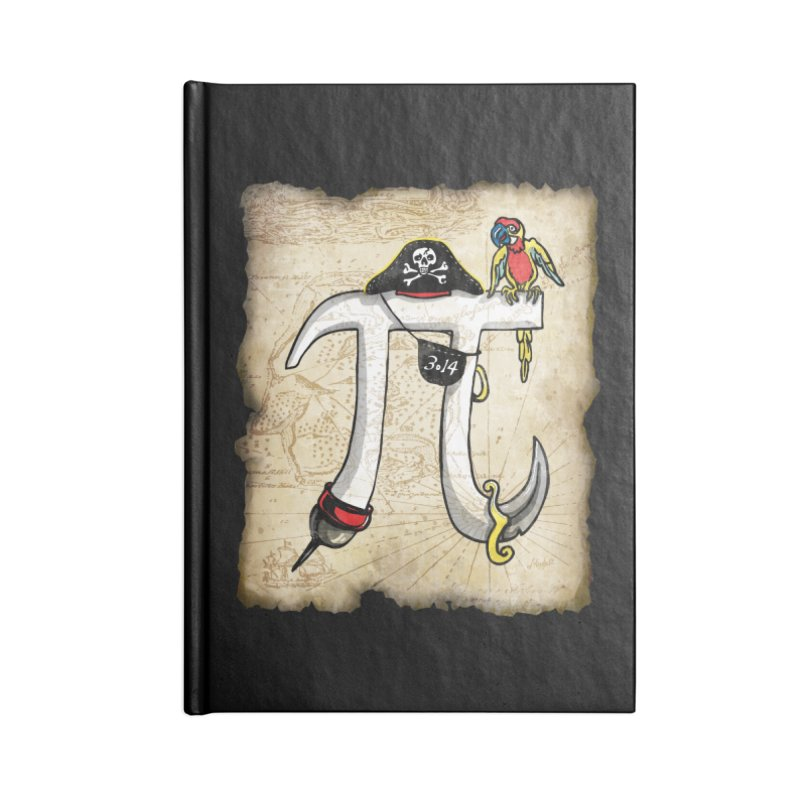Pirate Pi Day Accessories Notebook by Mudge Studios