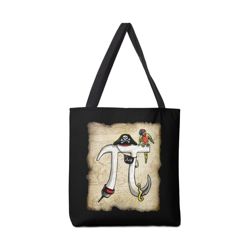 Pirate Pi Day Accessories Bag by Mudge Studios