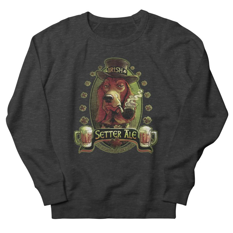 Irish Setter Red Ale Men's Sweatshirt by Mudge Studios