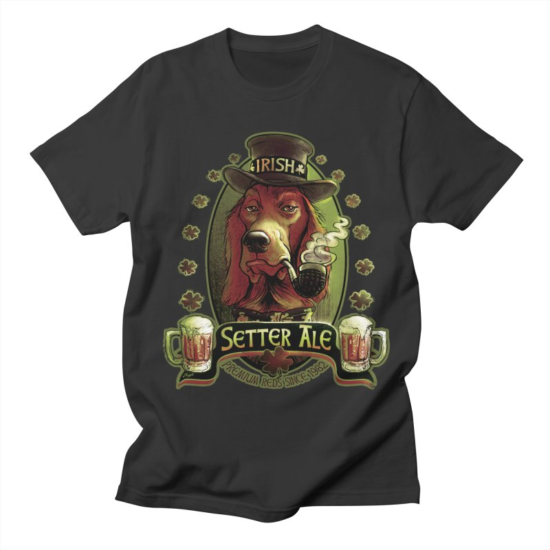 Irish Setter Red Ale Women's Unisex T-Shirt by Mudge Studios