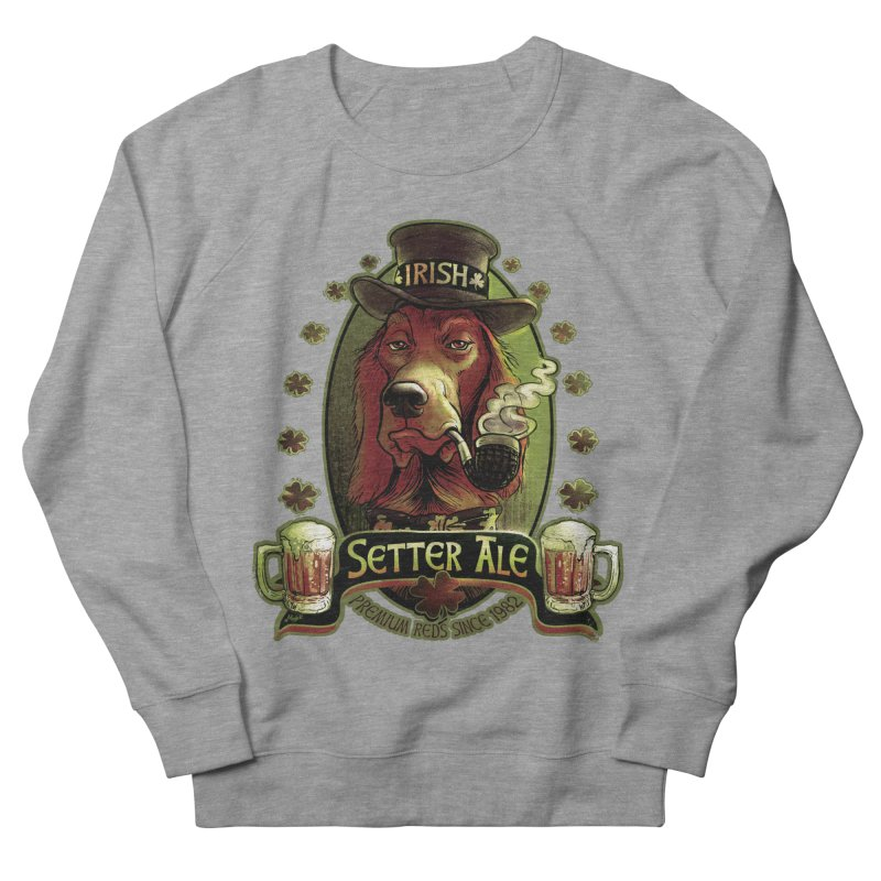 Irish Setter Red Ale Women's Sweatshirt by Mudge Studios