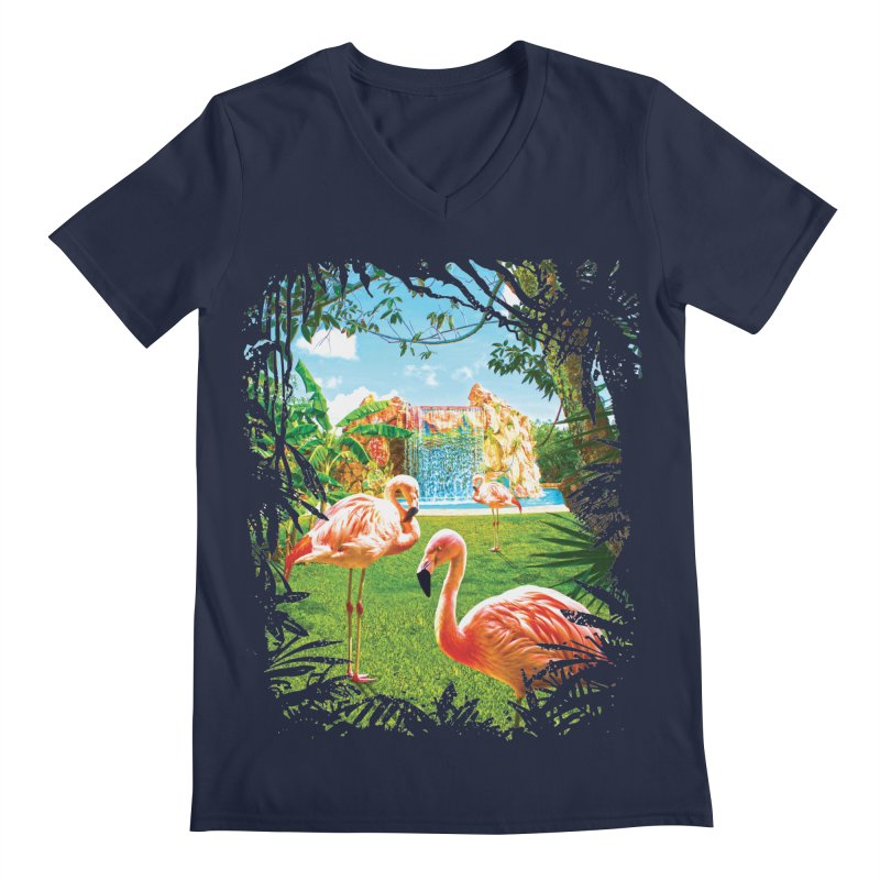 Pink Flamingo Paradise    by Mudge Studios
