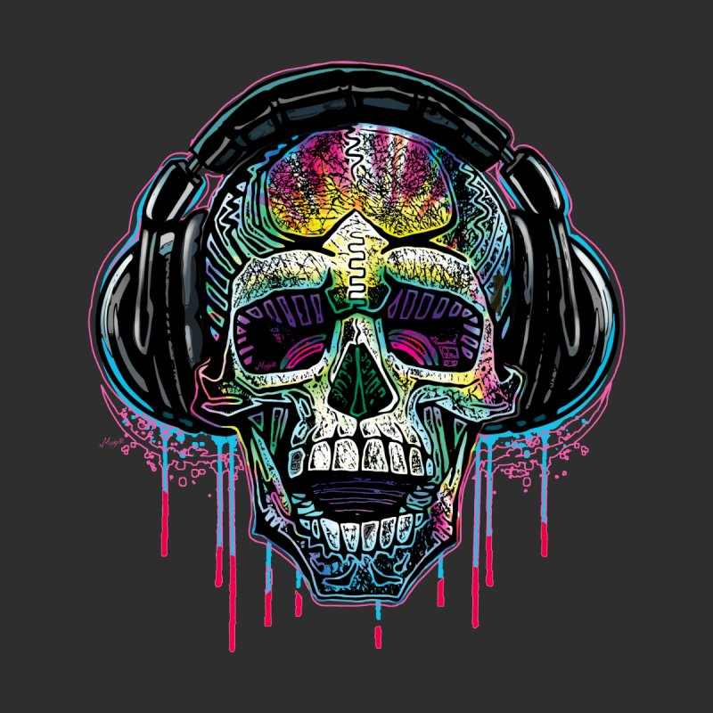YODO Skull Beats Women's Fitted T-Shirt by Mudge Studios