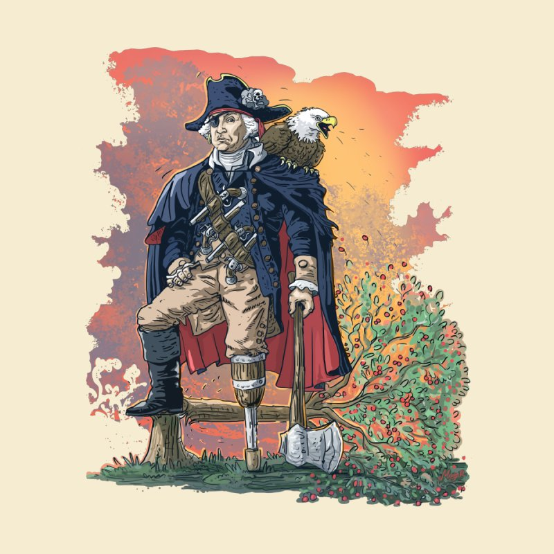 George Washington Founding Pirate Father by Mudge Studios