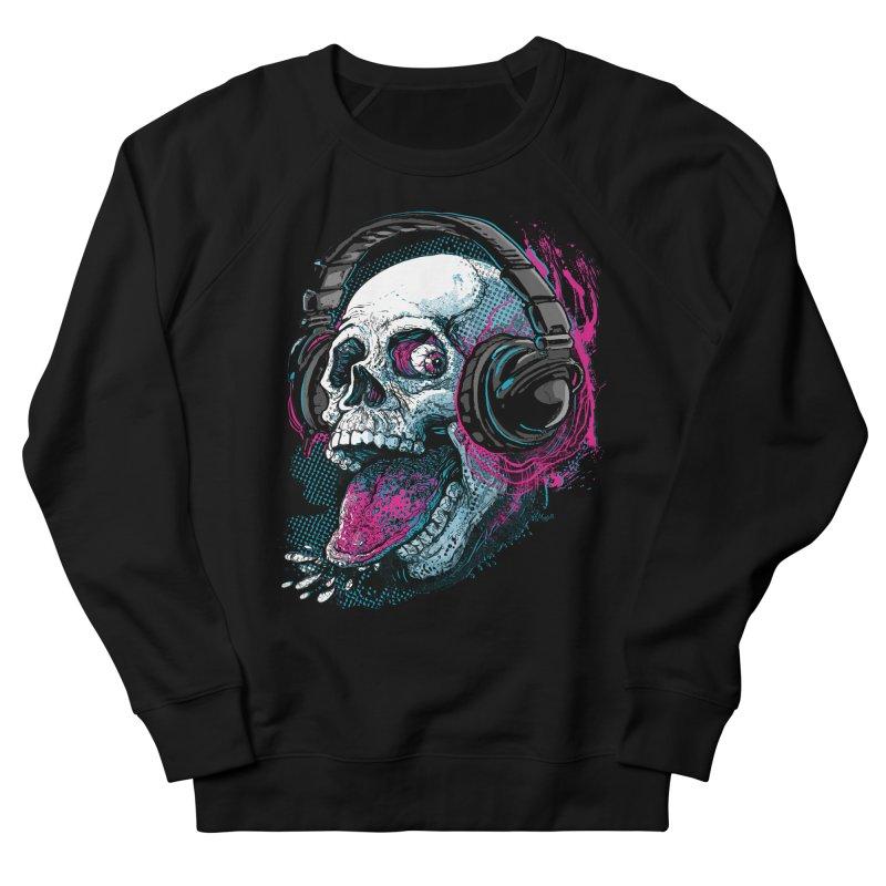 Skull Raspberry With Headphones   by Mudge Studios