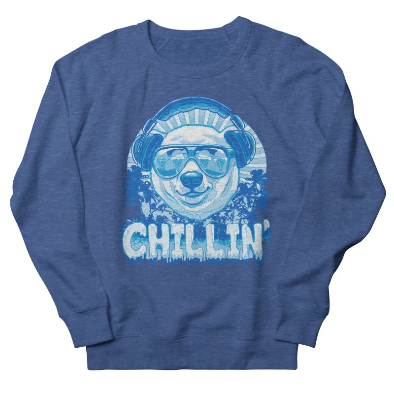 Chillin' Like a Polar Bear Men's Sweatshirt by Mudge Studios