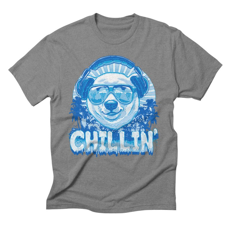 Chillin' Like a Polar Bear Men's Triblend T-Shirt by Mudge Studios