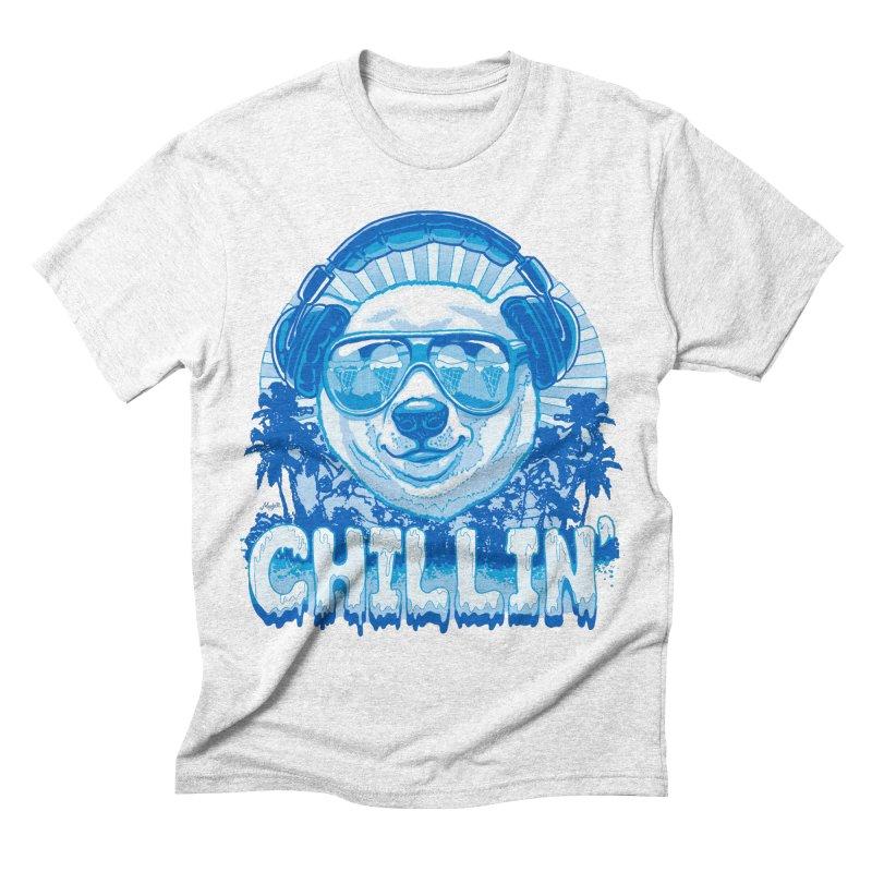 Chillin' Like a Polar Bear Men's Triblend T-shirt by Mudge Studios