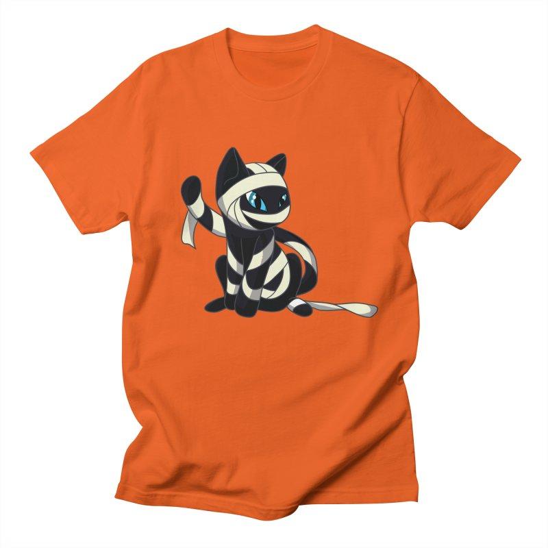 Mummy Cat Men's T-Shirt by Mukinata Designs