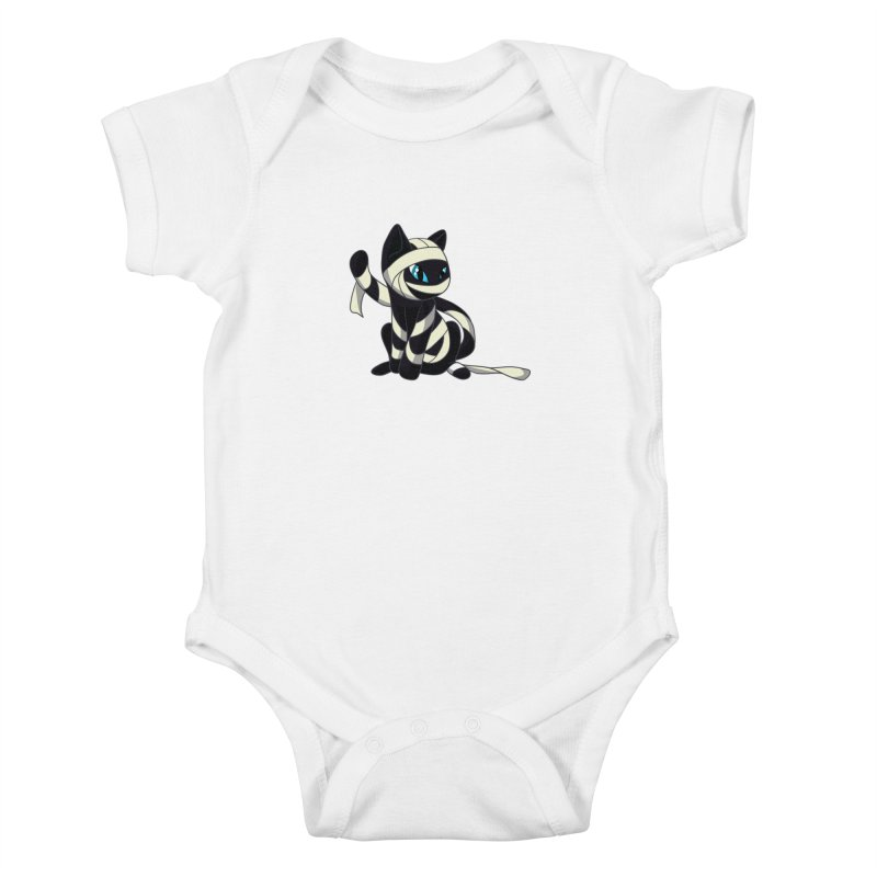 Mummy Cat Kids Baby Bodysuit by Mukinata Designs