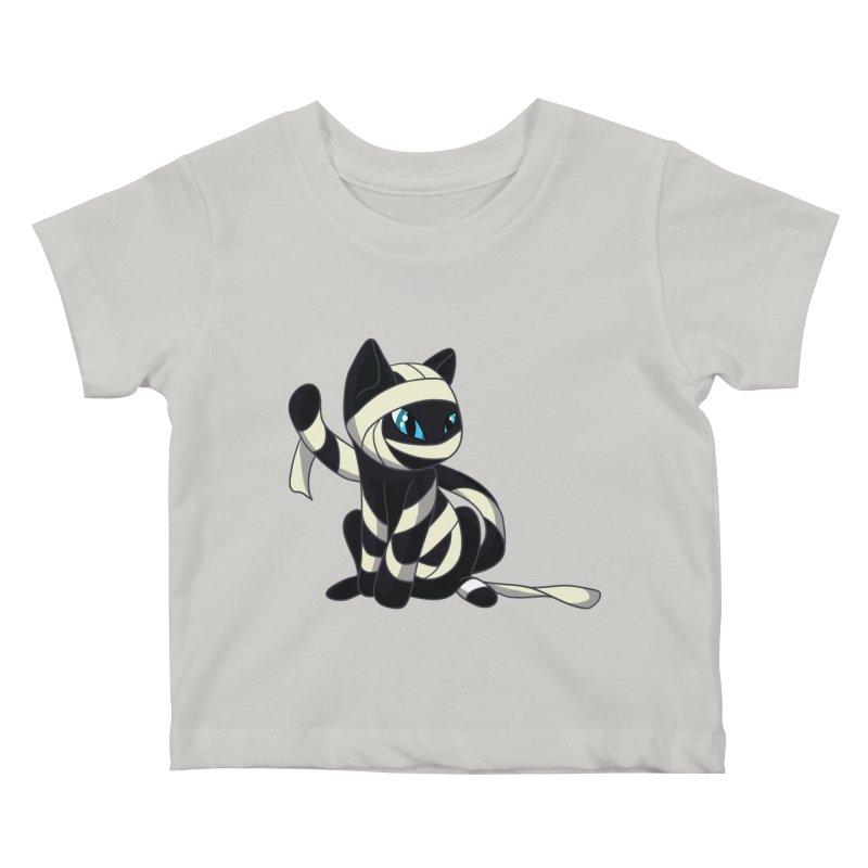 Mummy Cat Kids Baby T-Shirt by Mukinata Designs