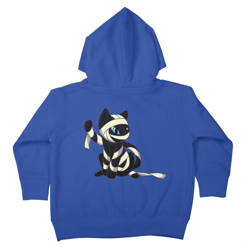 Mummy Cat Kids Toddler Zip-Up Hoody by Mukinata Designs