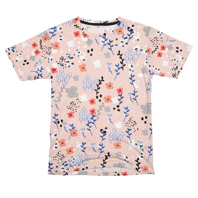 Floral Garden Men's Cut & Sew by mukta lata barua's Artist Shop