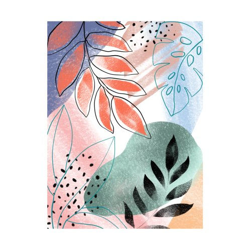 Design for Abstract Tropical 002