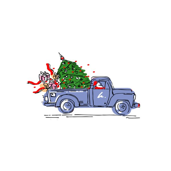 image for Christmas Tree Truck