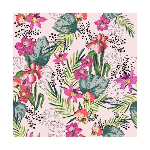 Design for Tropical Floral Garden 003