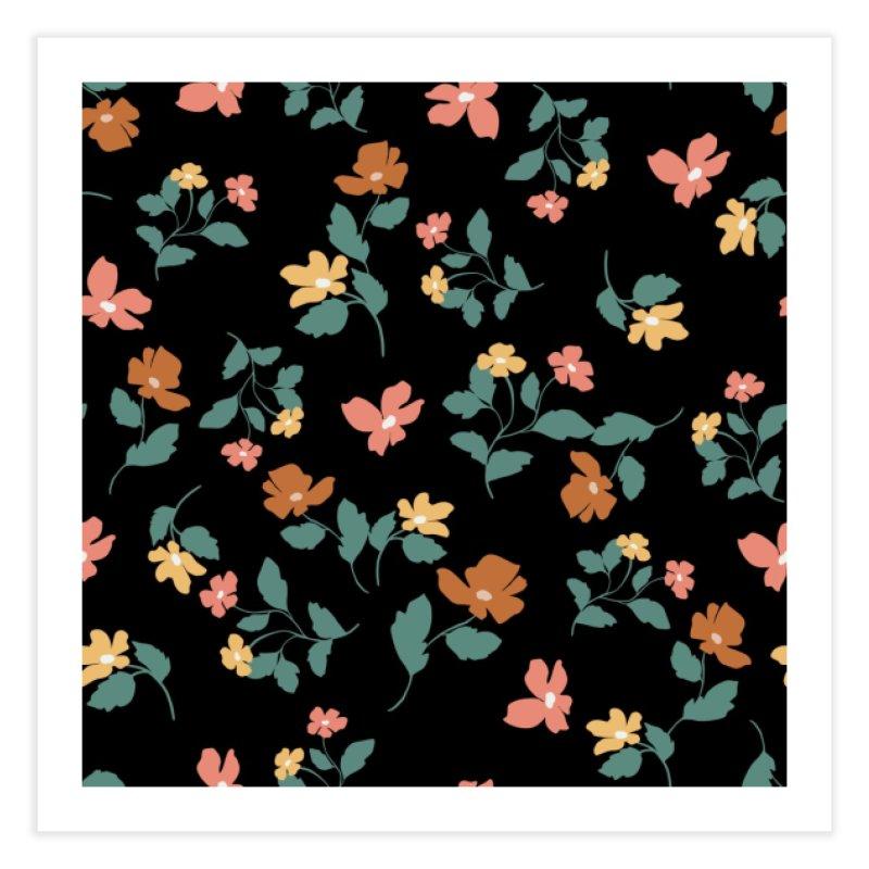 Floral 5044 Home Fine Art Print by mukta lata barua's Artist Shop
