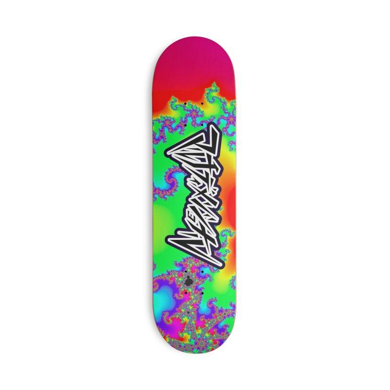 bifurcation locus (special edition) Accessories Skateboard by m u l t i d i m e n s i o n a l