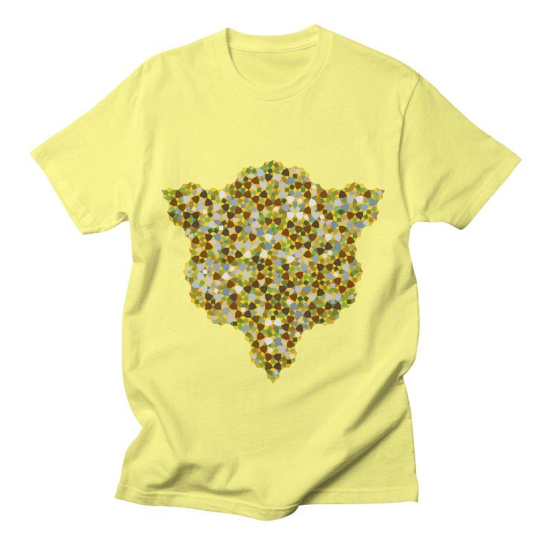 aperiodic fields Men's T-Shirt by m u l t i d i m e n s i o n a l