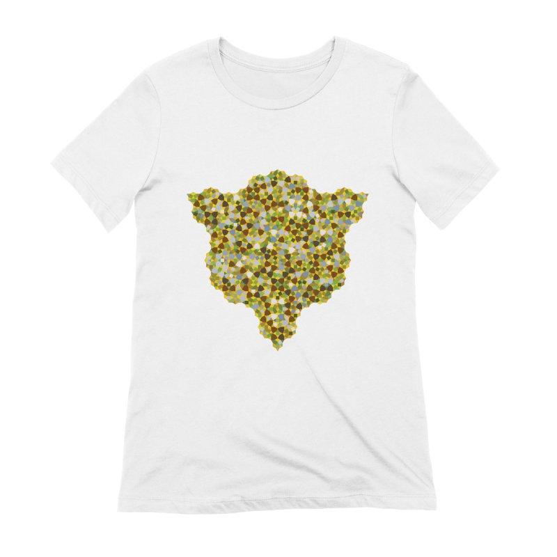 aperiodic fields Women's T-Shirt by m u l t i d i m e n s i o n a l