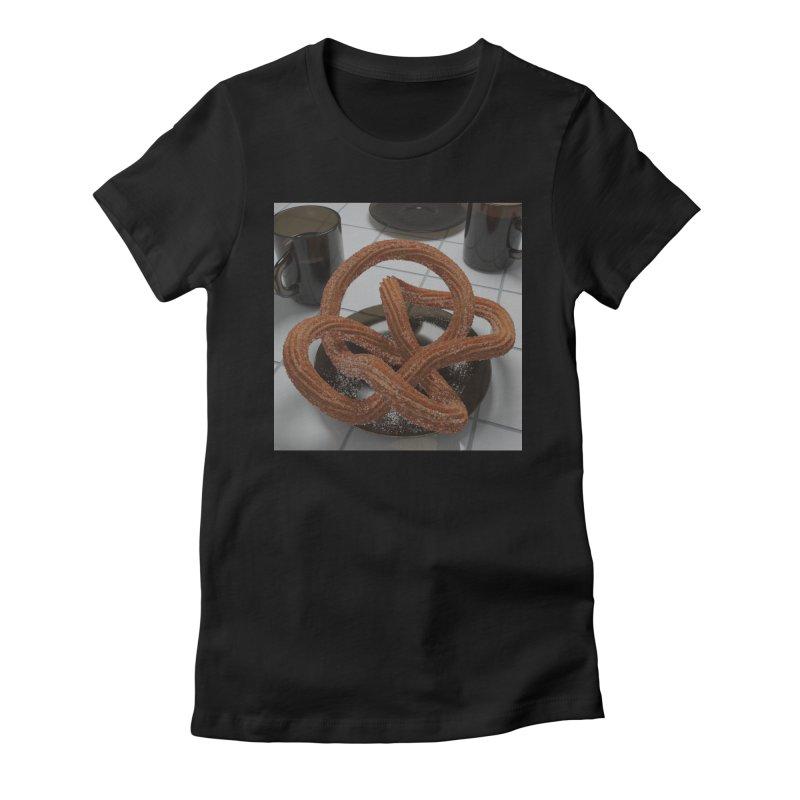 churro knot Women's T-Shirt by m u l t i d i m e n s i o n a l