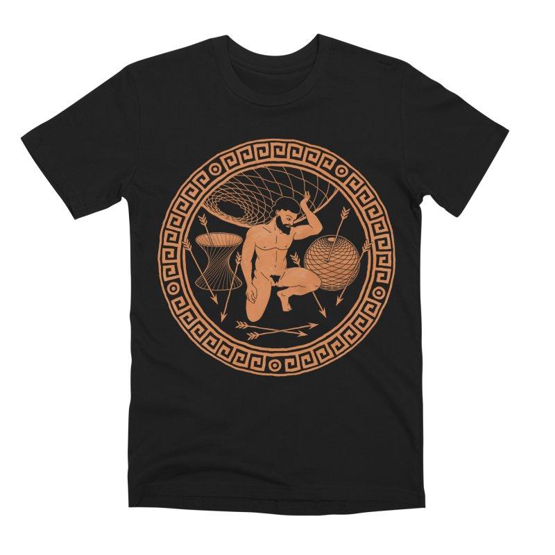 atlas Men's T-Shirt by m u l t i d i m e n s i o n a l