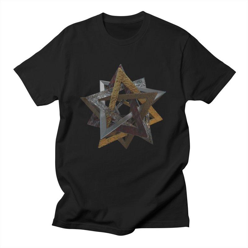the unsolvable heart Men's T-Shirt by m u l t i d i m e n s i o n a l