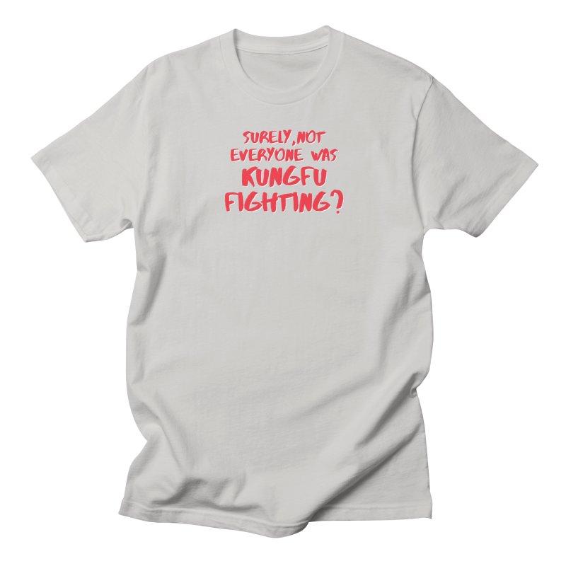 Kungfu Fighting in Men's Regular T-Shirt Stone by multipleshirts