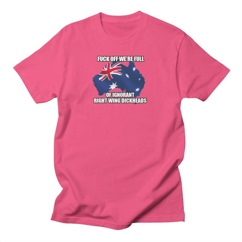Ignorant Rightwing Dickheads Women's Regular Unisex T-Shirt by multipleshirts