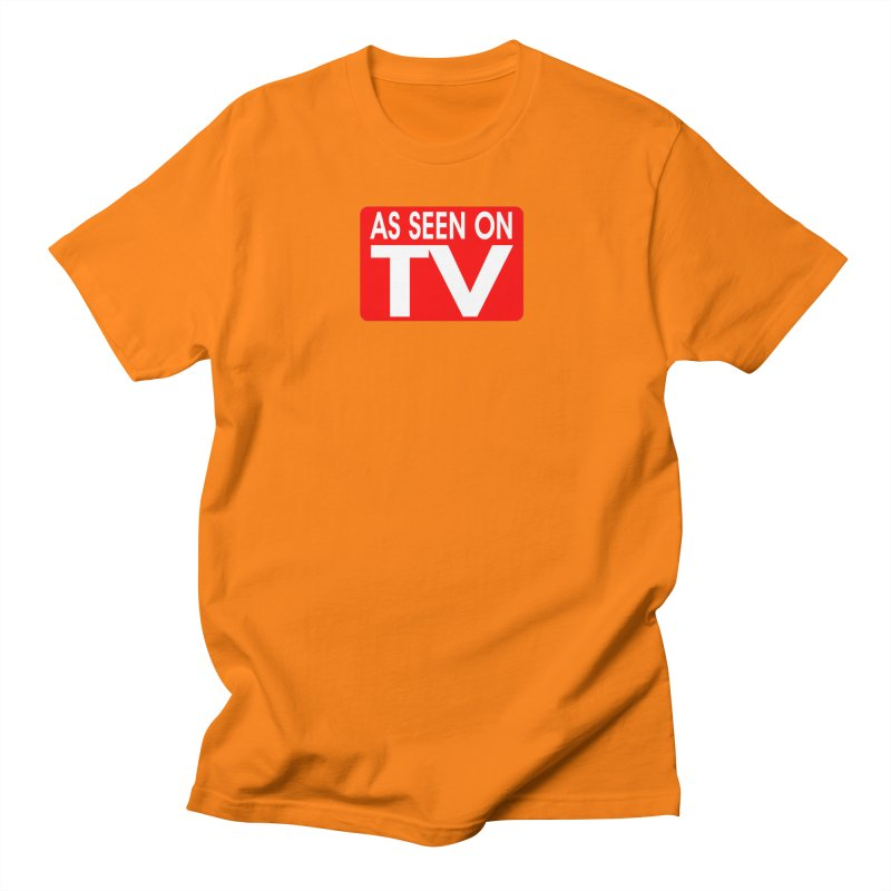 As Seen on TV in Men's Regular T-Shirt Orange by multipleshirts