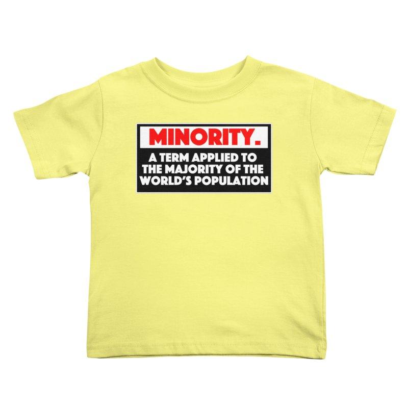 Minority Kids Toddler T-Shirt by multipleshirts