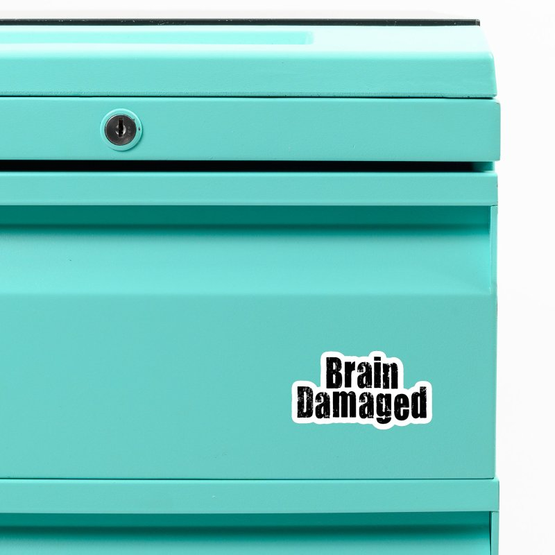 Brain Damaged Accessories Magnet by multipleshirts