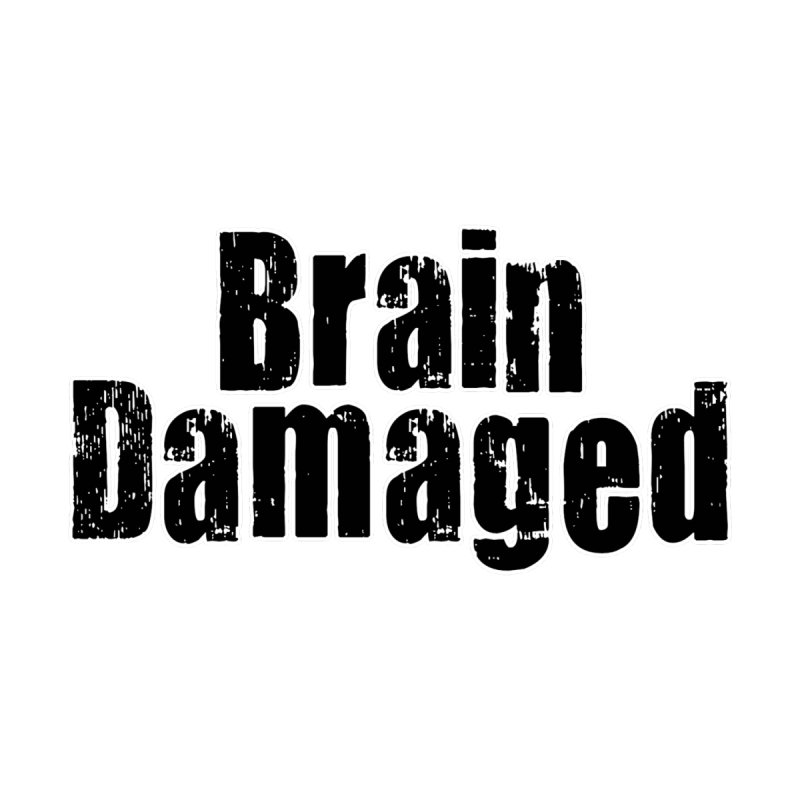 Brain Damaged Men's T-Shirt by multipleshirts