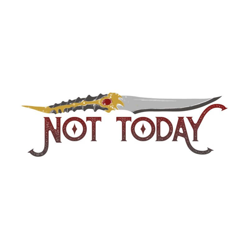 Not Today Women's V-Neck by Wicked and Wonder